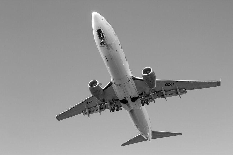Final approach Transavia Boeing 737