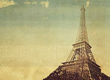 Eifelturm in Paris van Heike Hultsch