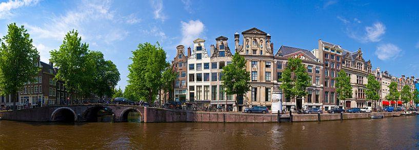 Panorama Herengracht van Anton de Zeeuw
