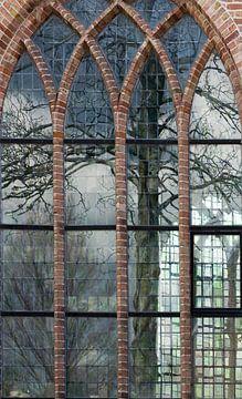de boom in de kerk van Bleiswijk! van Peter de Ruig