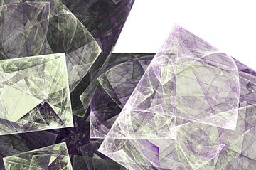 Graphic Fractal 2 von Gerrit Zomerman