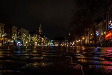 Groningen by nigt, Grote Markt van Jacqueline Kroezen