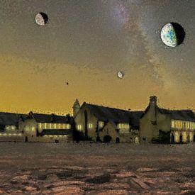 De abdij aan het eind van het heelal van Frans Blok