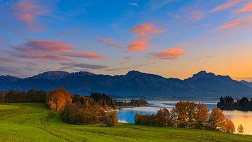 Forggensee, Beieren, Duitsland van Henk Meijer Photography