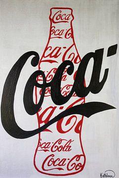 Coca Cola Rote Flasche von Kathleen Artist Fine Art