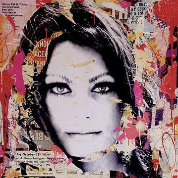 Sophia Loren sur Michiel Folkers