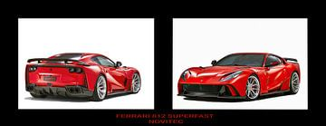 Ferrari 812 Superfast Novitec Tuning van Gert Hilbink