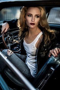 Warten auf meinen 69' Ford Mustang umkehren, Peter Müller Photography von 1x
