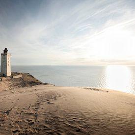 Leuchtturm Dänemark Rubjerg Knude von Claire Droppert