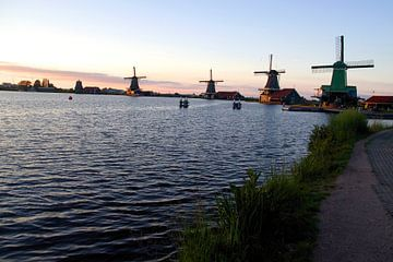 De molens van de Zaanse Schans van Fleksheks Fotografie