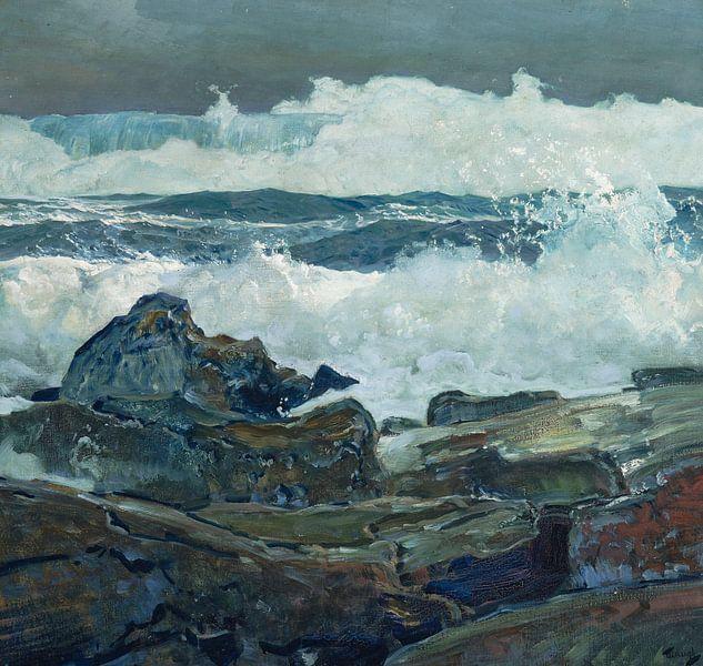 Frederick Judd Waugh~Die nächste Welle von finemasterpiece