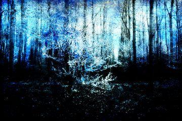 Aan het eind van een bos #02 van Peter Baak