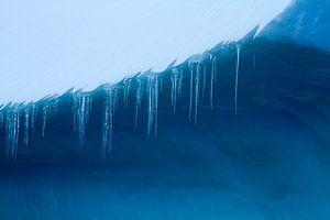 IJspegel op ijsberg van Angelika Stern
