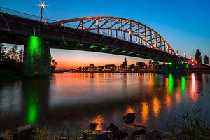 John Frost brug, Arnhem van