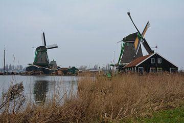 De Hollandse molens van de Zaanse schans  van Jeroen Tiggelaar