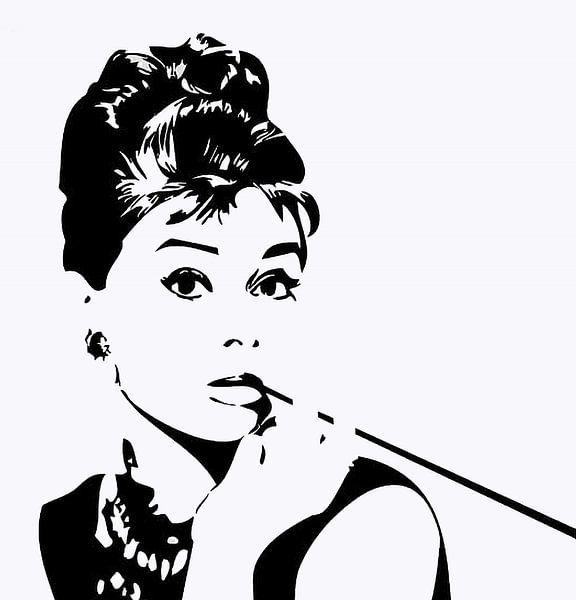 Audrey Hepburn van Brian Morgan