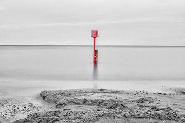 Beruhigende Meereslandschaft von Jim De Sitter