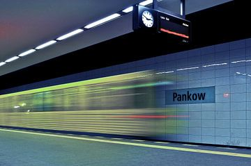 Metrostation U2 in Berlijn-Pankow van Silva Wischeropp