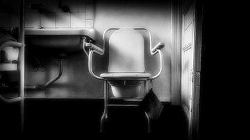 Vintage medische wc stoel van Faucon Alexis