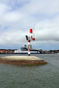 Willem Barentz dans le port de Terschelling - 1 sur Mooi op Terschelling