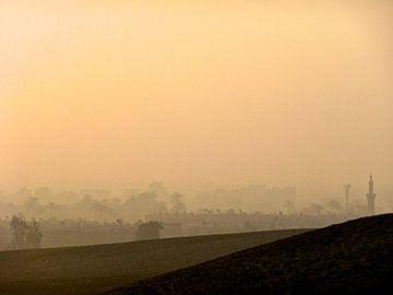 'Zonsopkomst', Cairo- Egypte van Martine Joanne