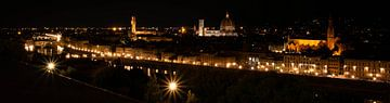 Florenz panorama von Jan-Willem Kokhuis