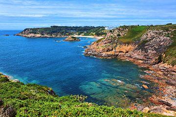 Portelet Bay auf Jersey von Gisela Scheffbuch