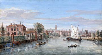 Amersfoort, Ansicht von - Caspar van Wittel von Atelier Liesjes