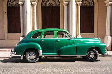 Oldtimer in Havana van Erwin Blekkenhorst