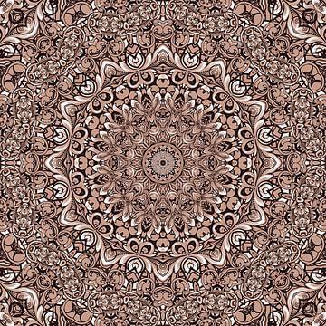 Mandala-stijl 73 van Marion Tenbergen