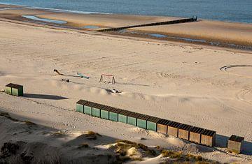 Winters strand 2 van Percy's fotografie