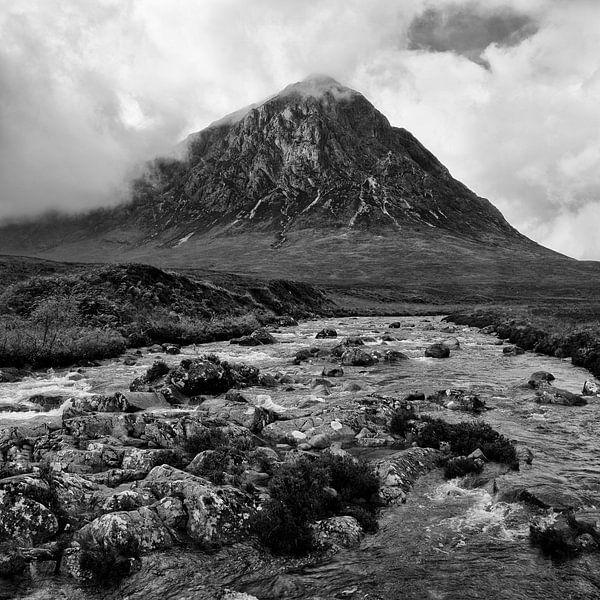 Buachaille Etive Mòr, Glen Etive, Schotland van Johan Zwarthoed