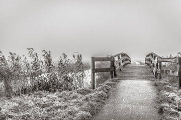 Op een verlaten bruggetje van Willy Sybesma