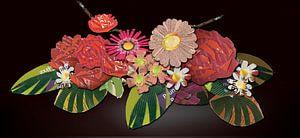 rose arrangement