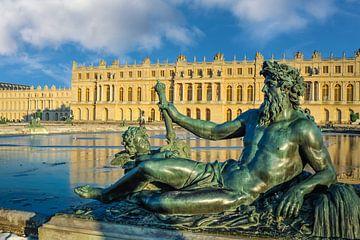 Neptunus voor het kasteel van Versailles van Christian Müringer