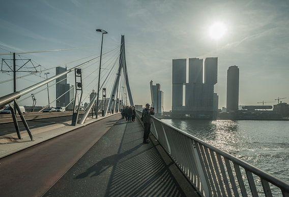 Erasmusbrug, Rotterdam van Daan Overkleeft
