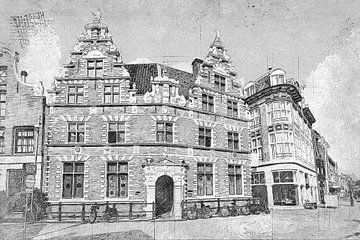 Hoorn Statenlogement Noord-Holland Nederland van Hendrik-Jan Kornelis