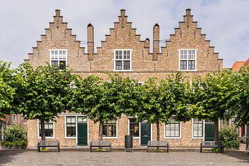 Maisons typiquement néerlandaises sur Adri Vollenhouw