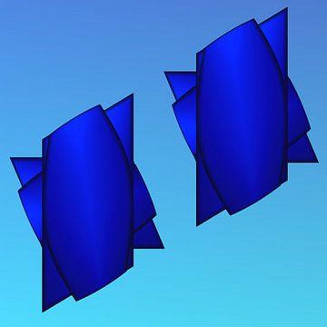 Blauverzug van Harry Ucksche