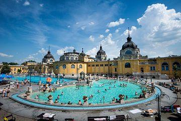 Széchenyibad Boedapest Hongarije von Keesnan Dogger Fotografie