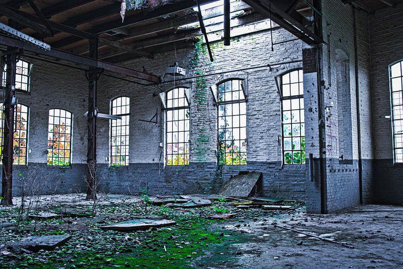 Verlassene Werkstatt von Ina Muntinga