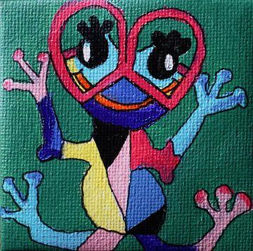 Crazy frog von Angelique van 't Riet