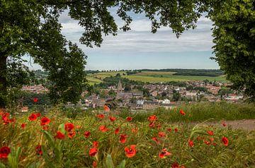 Uitzicht op Gulpen in Zuid-Limburg