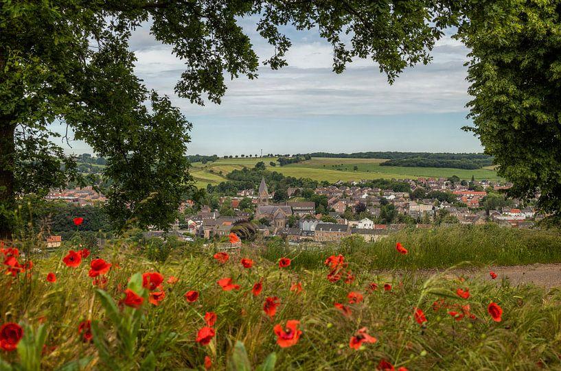 Uitzicht op Gulpen in Zuid-Limburg van John Kreukniet