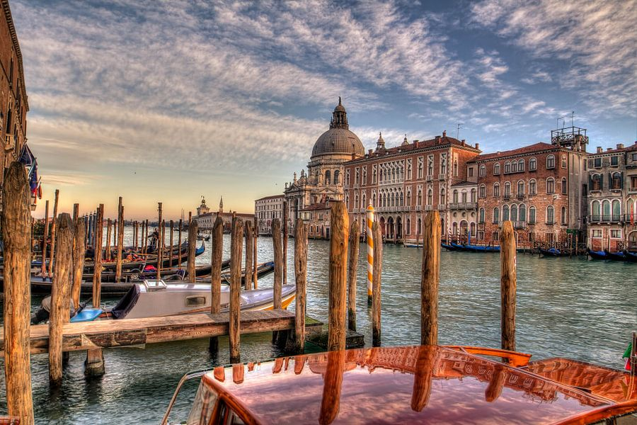Grand Canal Venice van Rene Ladenius