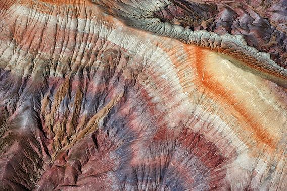 Kleurrijke Badlands in de Painted Desert, Arizona, USA