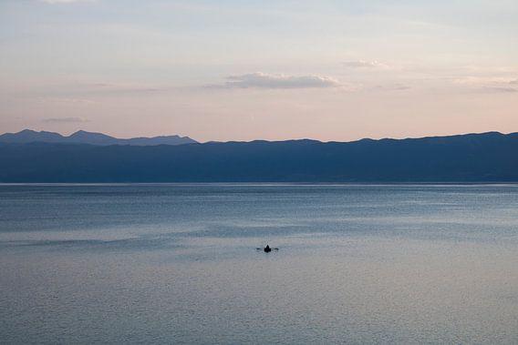 Seul sur l'eau