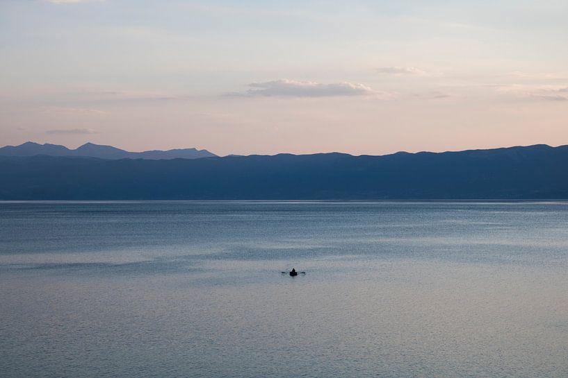 Seul sur l'eau sur seth esenkbrink