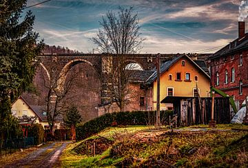 Viadukt im Erzgebirge von Johnny Flash