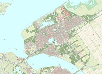 Kaart vanAlmere
